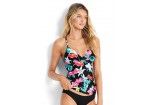 Seafolly Island Vibe Wrap Front Singlet