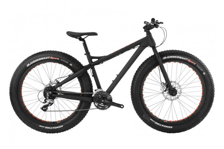 "BH Big Bud ""Fat bike"" hjól, 26"" Black / Red / Blue"