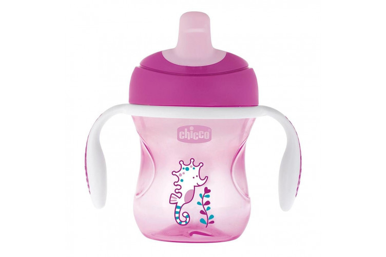 Chicco training cup +6 bleik