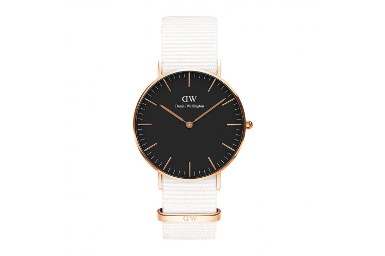 Daniel Wellington Dover Melrose Black 36 DW00100310