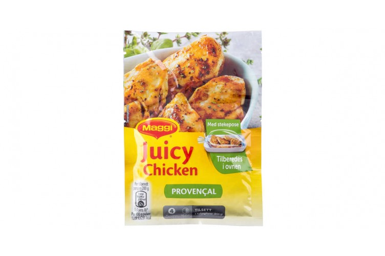 Maggi Juicy Chicken Kryddblana 40g