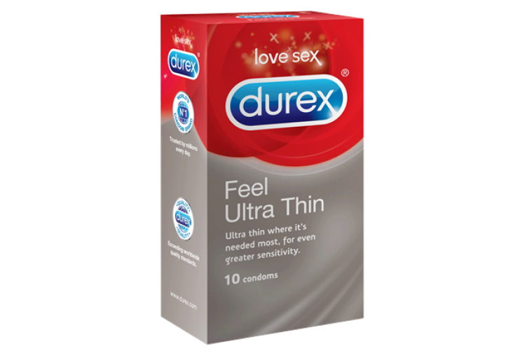 Durex Verjur Feel Ultra Thin 10s