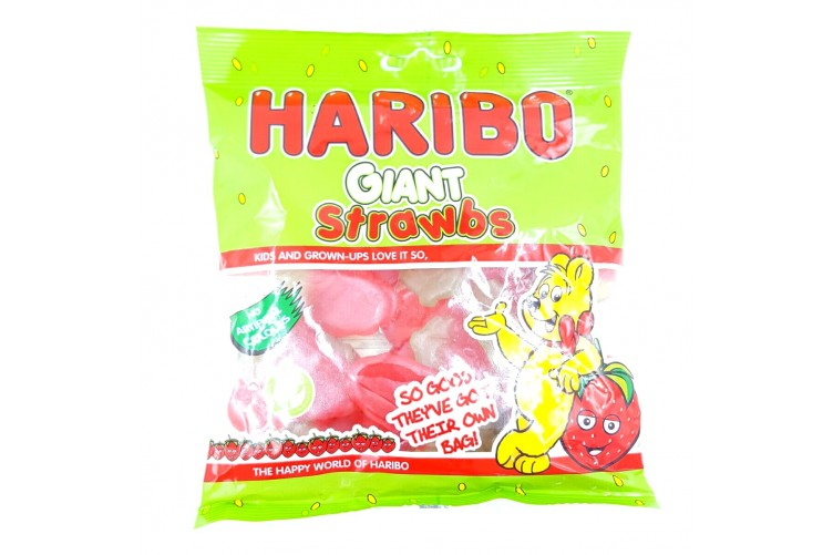 Haribo Strawberries 190g