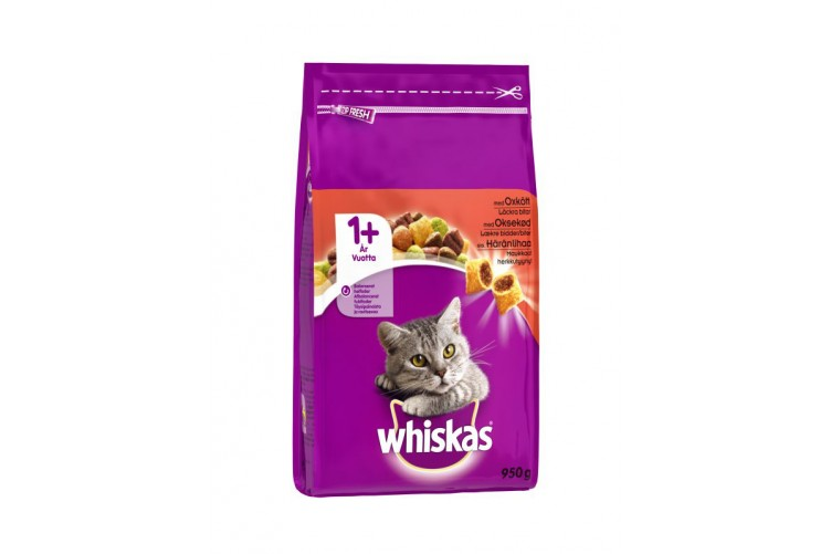Whiskas 950g Dry Beef