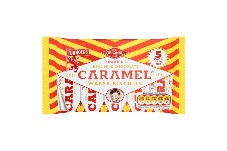 Caramel Bar Tunnocks 5stk