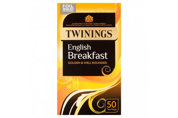 Twinings English breakfast 50s