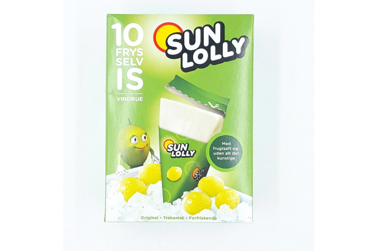 Sunlolly Vindrue 10x65ml
