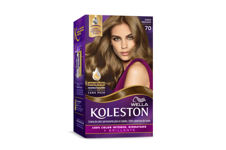 Wella Koleston Hárlitur 7/0 Medium Blonde