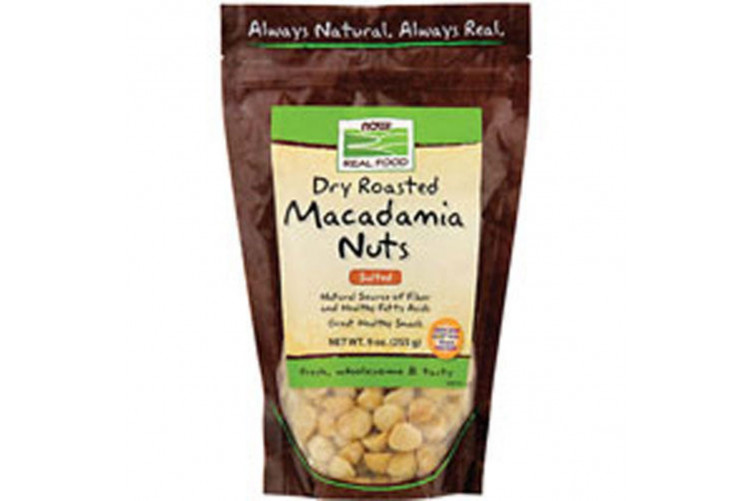 Now matv.Macadamia Nuts salt 255g