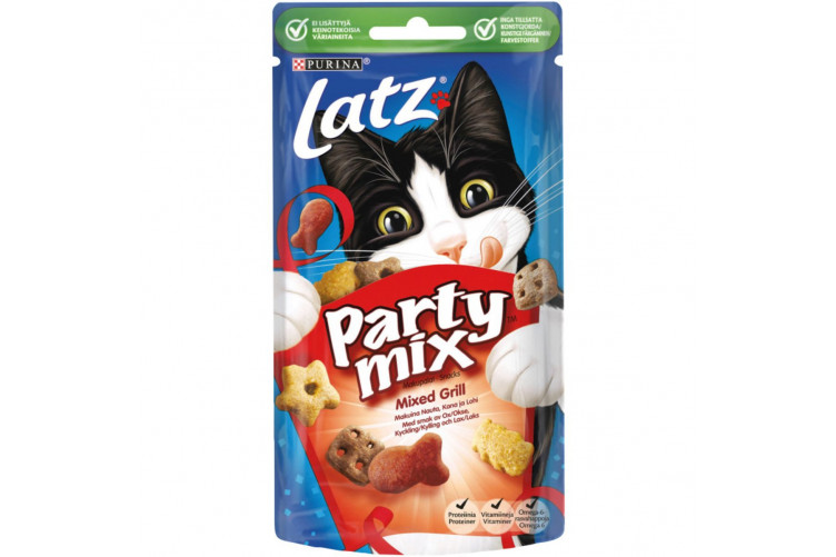 Purina Partymix Mixed grill 60gr