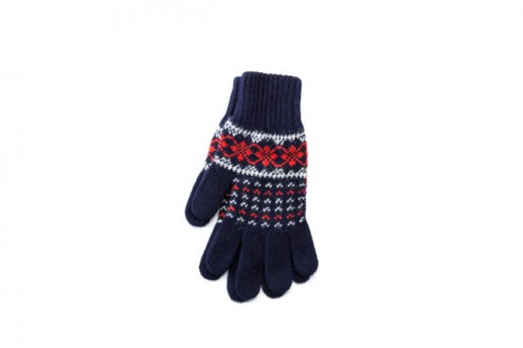 Patterned Wool Glovese