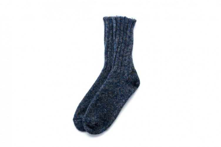 Traditional icelandic rag socks