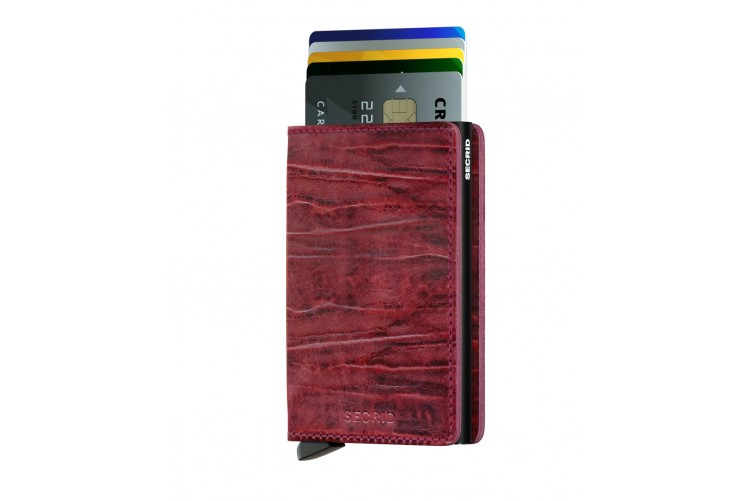 Slimwallet Dutch Martin Bordeaux