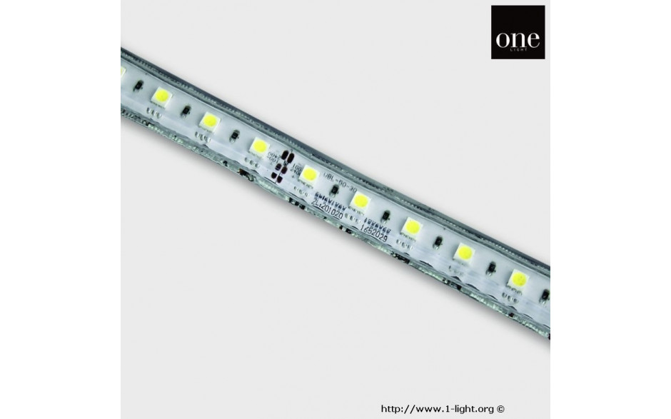 7860/W LED borði 230V Cool White