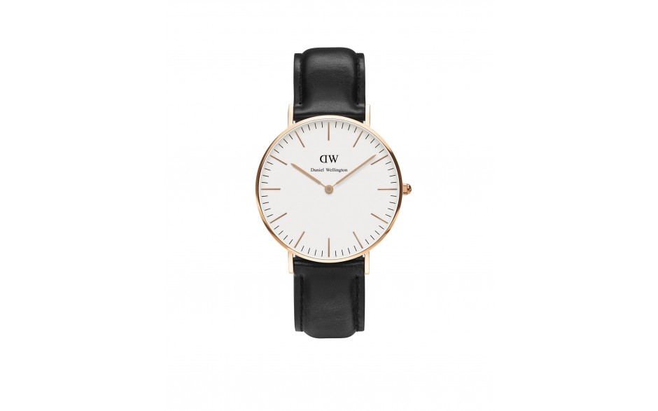 Daniel Wellington Classic White Sheffield 36 gyllt DW00100036