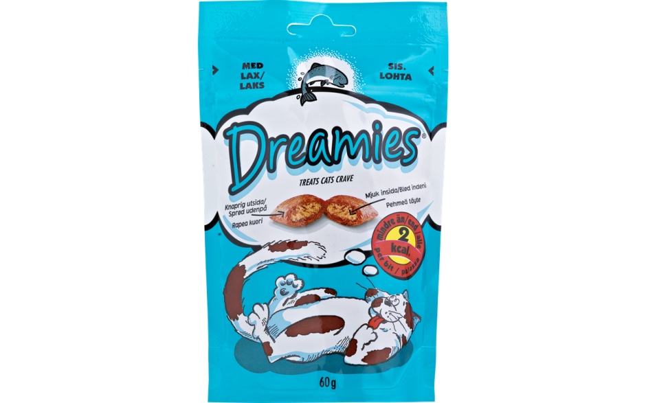Dreamies Lax 60g