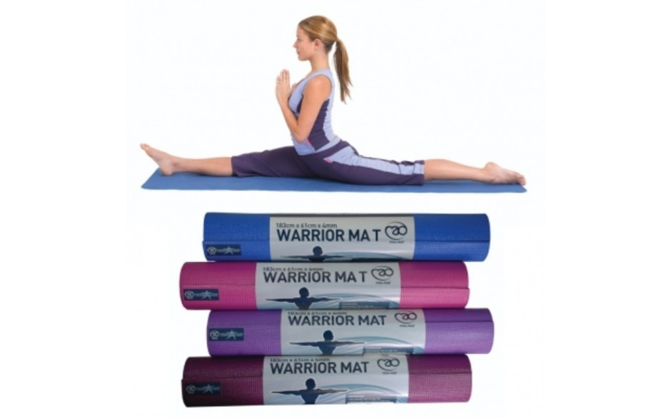 Warrior Yoga Mat 4mm