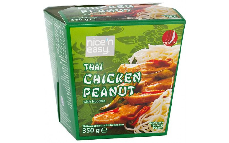 Nice'n Easy Chicken Peanut 350gr.