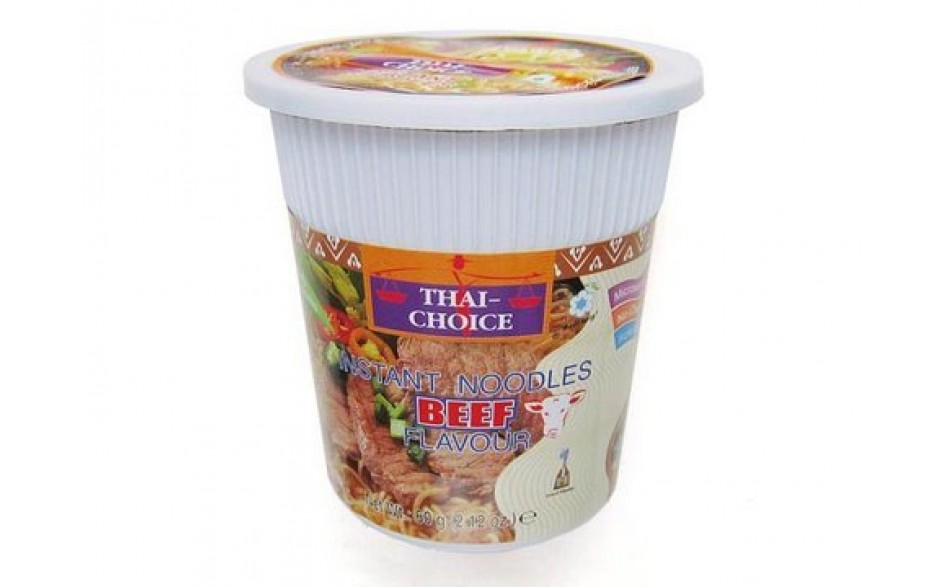 Thai Choice Cup Núðlur Beef 60g