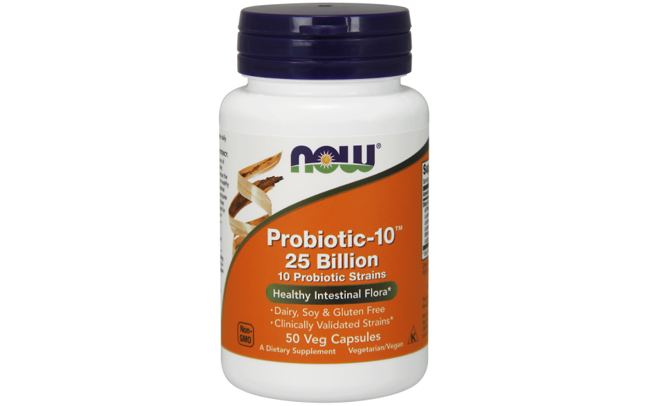 Now Probiotic-10 25 Bill 50Vc