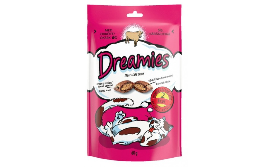Dreamies Kjöt 60g
