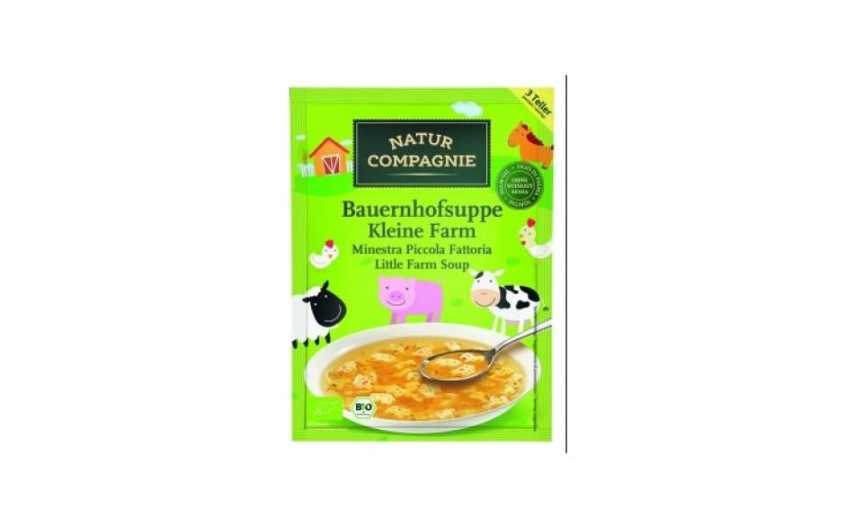 Natur Co Little farm soup 63g