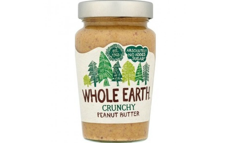 Whole Earth Hnetusmjör Crunchy 340gr
