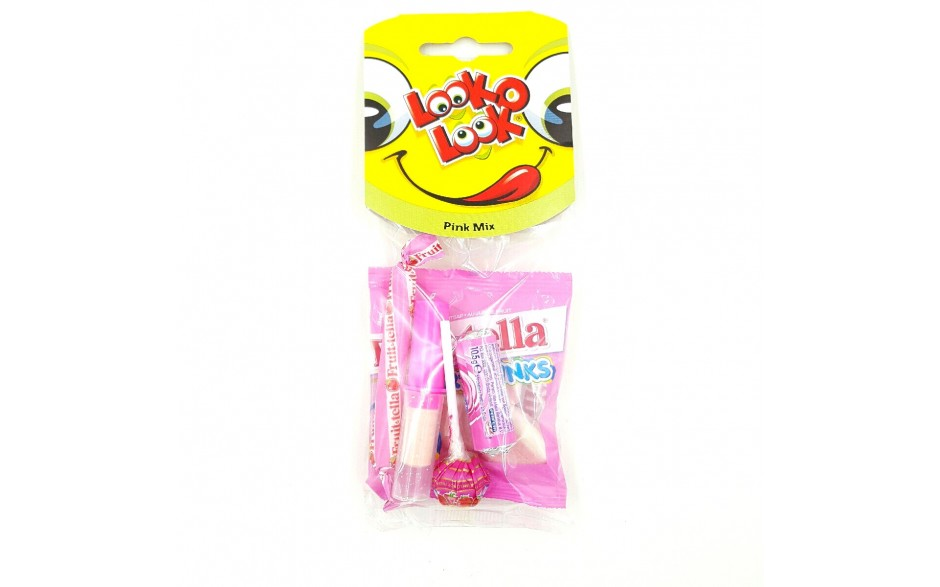Look'o'Look Pink mix 5stk
