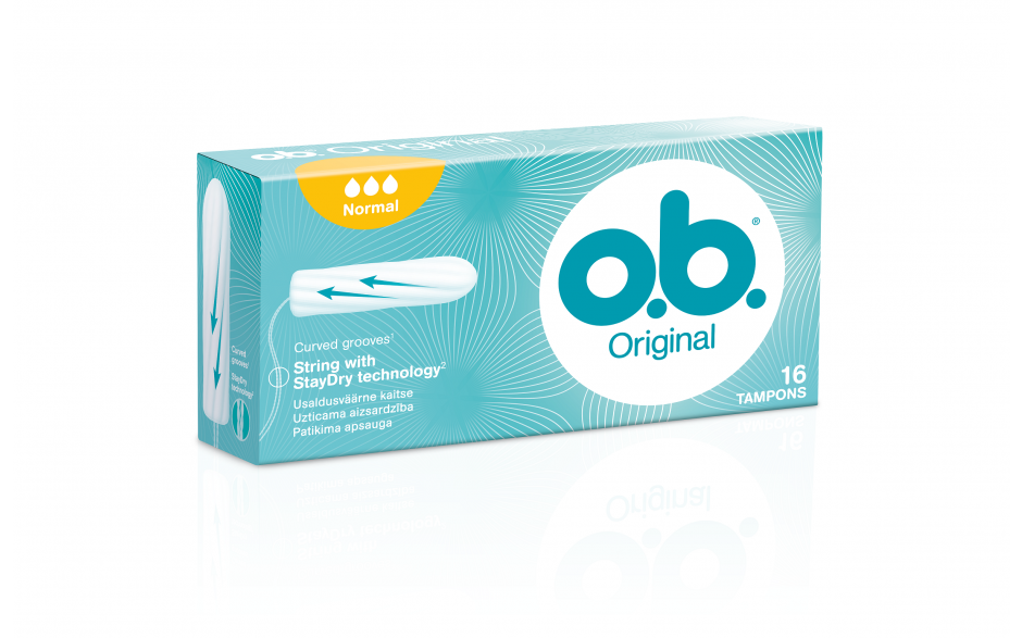 OB-Tappar Normal 16 stk
