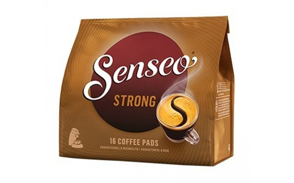 Senseo Strong Dark roast 16stk