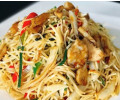 Fried noodle with chicken, lamb or beef