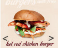 HOT ROD CHICKEN BURGER