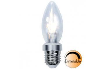 Illumination LED Clear E27 2700K 325lm 4W(30W) Dimmer compatible