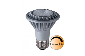 Spotlight LED Grooved E27 2700K 380lm 7W(50W) 35° Dimmer compatible