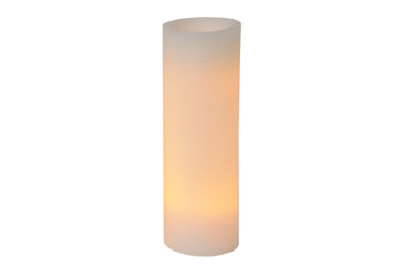 Wax candle 30cm with timer