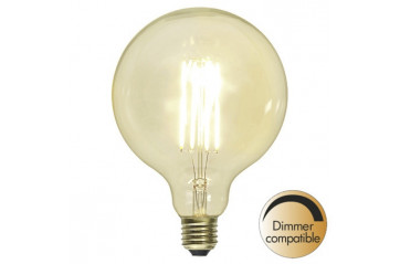Decoration LED Clear G125 E27 2100K 320lm Dimmer comp.