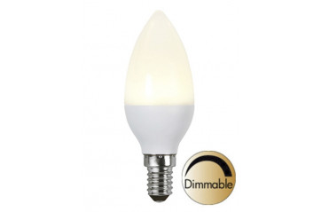 Illumination LED Opal E14 2700K 400lm 6W(35W) Dimmer compatible