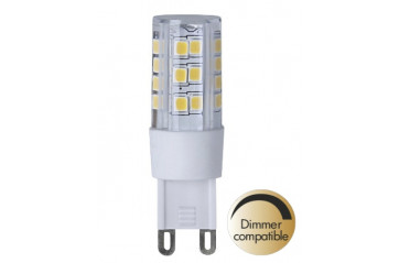 LED Clear G9 2700K 360lm Dimmer comp.