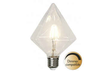 LED Pera E27 3,2W(=30W) 2700K 320lm Dimmer comp.