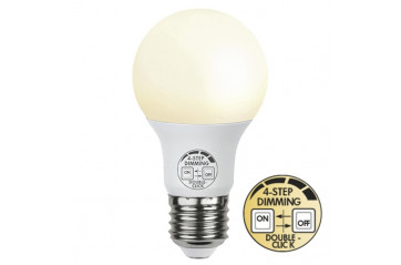 LED Pera E27 9W Built in dimmer 4 step