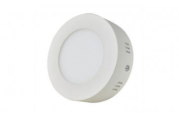 LED plafon light round WHITE 6W Dimmable