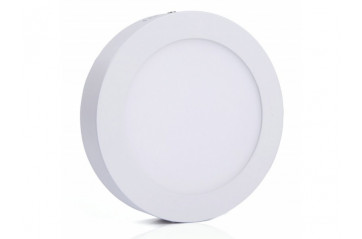 LED plafon light round WHITE 18W Dimmable
