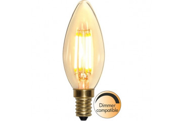 LED LAMP E14 C35 SOFT GLOW DIMMABLE