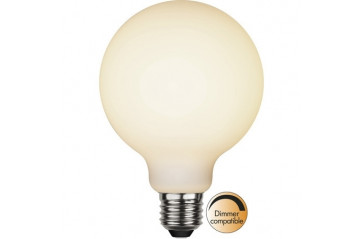 LED LAMP E27 G95 FROSTED FILAMENT