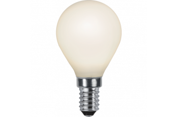 LED LAMP E14 P45 OPAQUE FILAMENT RA90