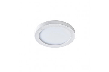 Slim round 9 White LED Innfeld