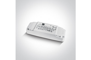 89030VD 30W 24V DC 1-10V & Push to Dim dimmable constant voltage driver, IP20.