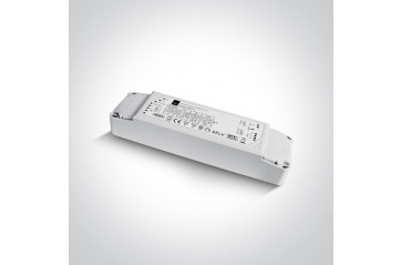 89075L 75W 24V DC 1-10V & Push to Dim dimmable constant voltage driver, IP20.