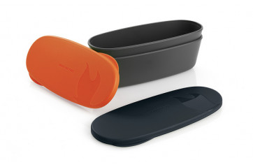 Snap Box Oval 2-Pack