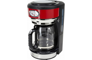 RH Retro Red Glass Coffee maker
